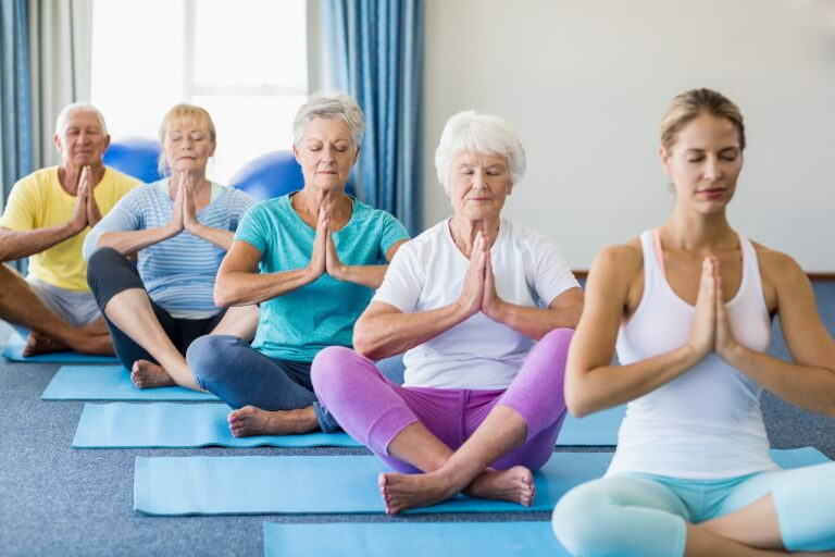 Yoga Poses for Women Over 60